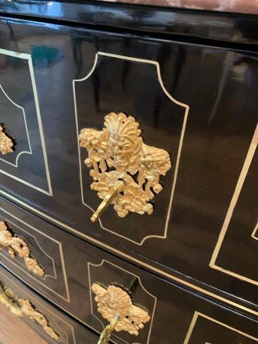 Louis XIV - Louis XIV ebony chest of drawers