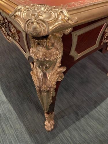 Antiquités - Charles Cressent Regency style flat desk