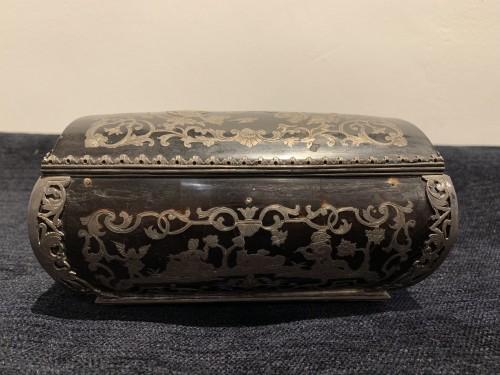 Objects of Vertu  - Louis XIV tortoiseshell and pewter box