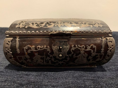 Louis XIV tortoiseshell and pewter box - Louis XIV