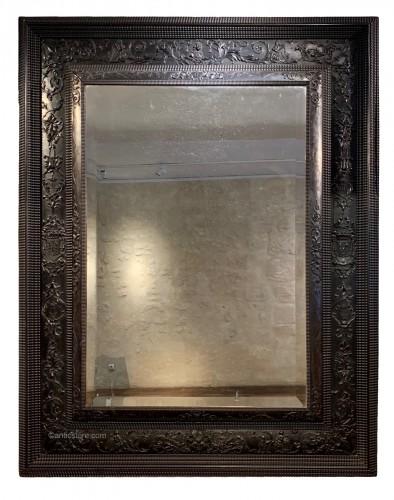 Louis XIII Ebony Mirror
