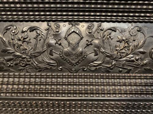 Antiquités - Louis XIII Ebony Mirror