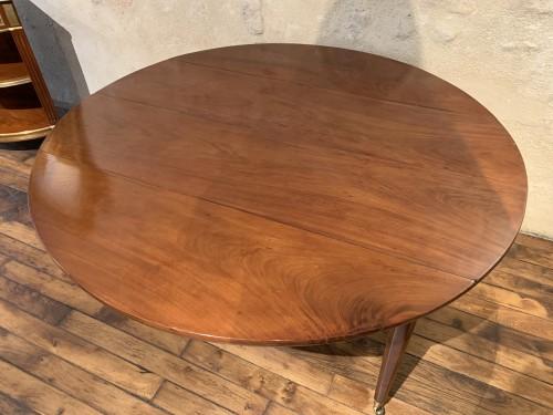 18th century - Louis XVI mahogany dining table