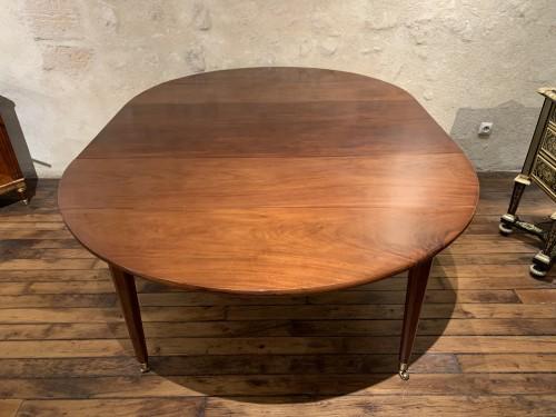 Louis XVI - Louis XVI mahogany dining table