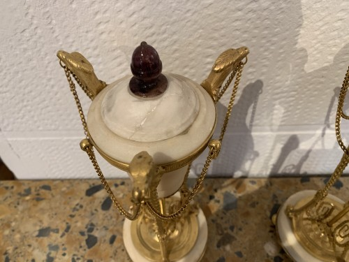Decorative Objects  - Pair of Louis XVI period Casseroles