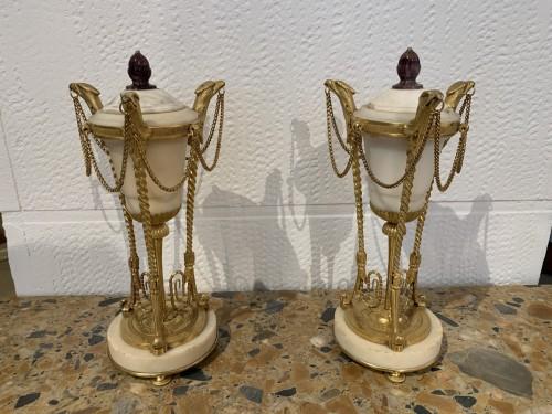 Antiquités - Pair of Louis XVI period Casseroles