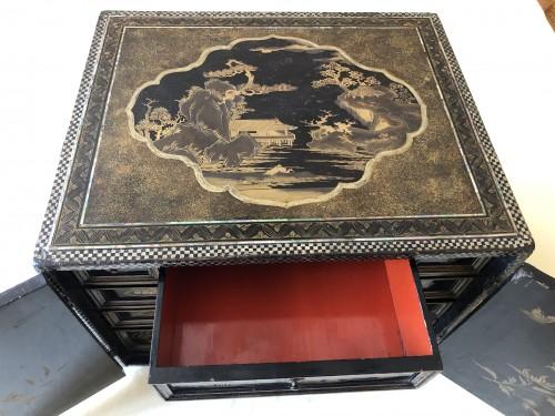 Furniture  - Momoyama period Namban cabinet