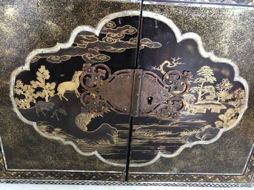 - Momoyama period Namban cabinet