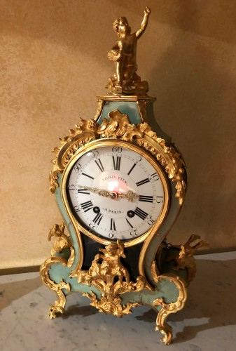 18th century - Louis XV period green cartel with chimeras