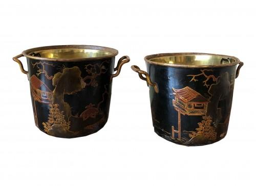 Pair of Regency period coolers
