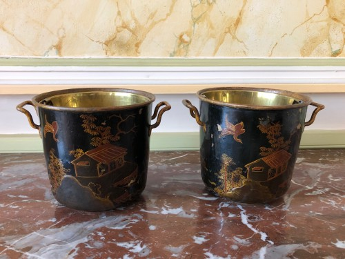 Decorative Objects  - Pair of Regency period coolers