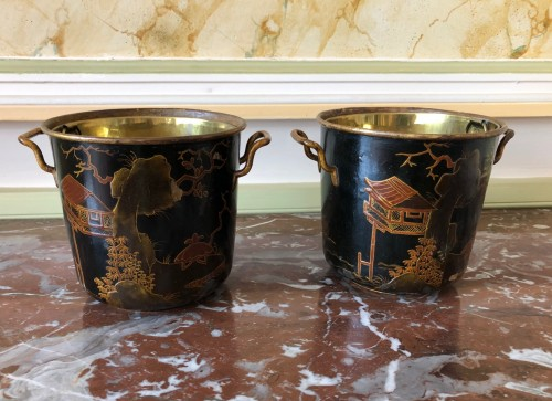 17th century - Pair of Regency period coolers