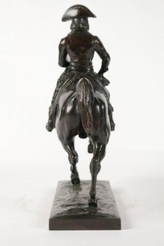 """Antoine-Louis BARYE (1795-1875) A Bronze figure """"General Bonaparte""""  - Sculpture Style Art nouveau"""