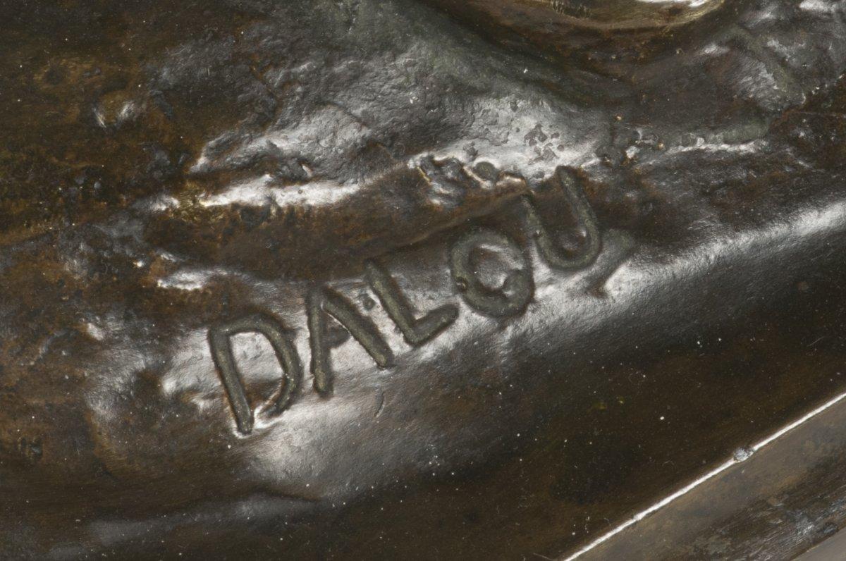 Aim jules dalou 1838 1902 bronze figure le miroir for Le miroir brise