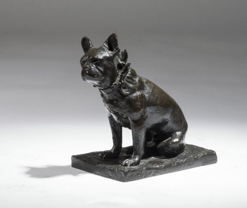 Edouard Marcel SANDOZ (1881-1971) - Bouledogue assis dit Dominique