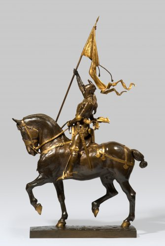 FREMIET Emmanuel (1824-1910) - Jeanne d'Arc