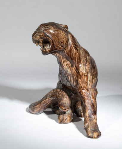 VAN RYSWYCK Thierry (1911-1958) - Tiger      - Sculpture Style
