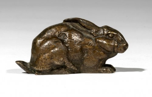 BARYE Antoine-Louis (1795-1875) - Rabbit