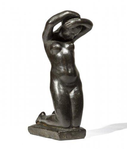 DEJEAN Louis Eugène (1872-1953) - Knelling woman