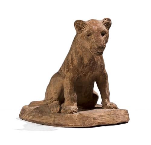 Godchaux Roger (1878-1958), Sitting cub