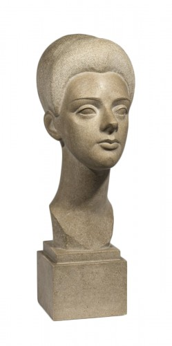 Lafaye Lucien (1896-1975), Young woman's head