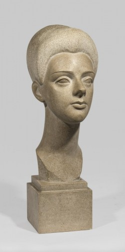 Lafaye Lucien (1896-1975), Young woman's head  -