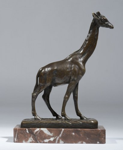 Alfred Barye (1839-1882) - Girafe - Sculpture Style