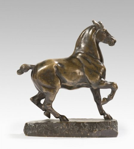 19th century - Antoine-Louis BARYE (1795-1875) - Percheron Horse