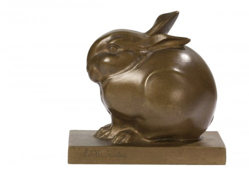 Édouard-Marcel Sandoz (1881-1971) - Rabbit ball