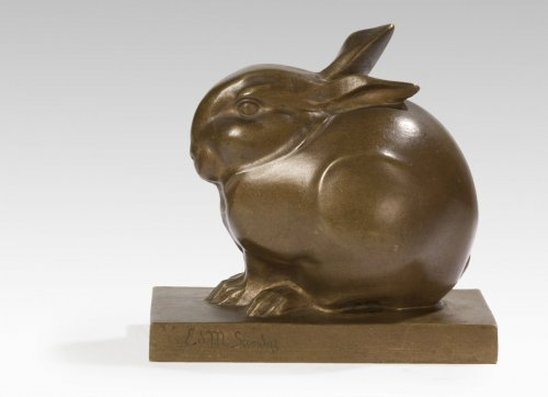 20th century - Édouard-Marcel Sandoz (1881-1971) - Rabbit ball