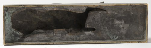 Santiago Bonomé (1901-1995) - Lying doe - Sculpture Style