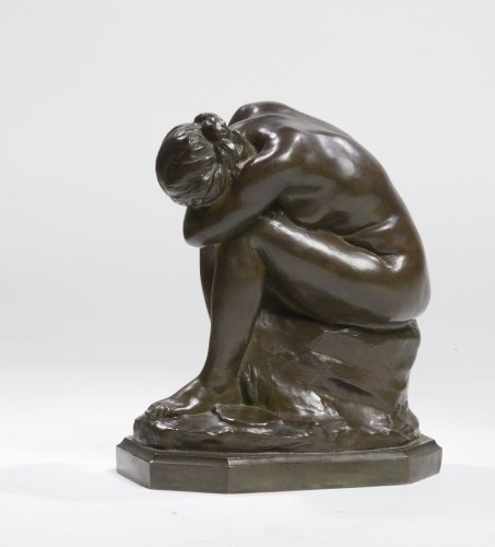 Aimé-Jules Dalou (1838-1902) - The Unrecognized Truth or Broken Mirror - Sculpture Style