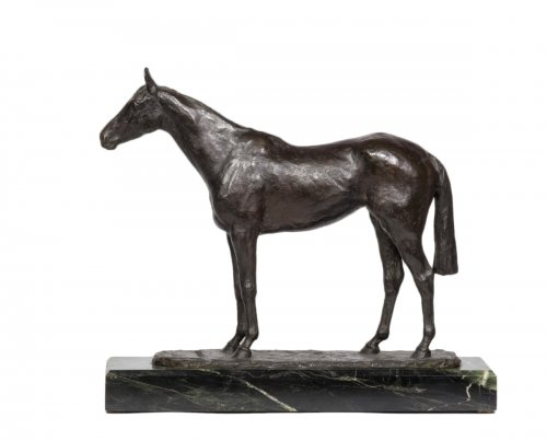 René Paris (1881-1970) - Coronation cheval debout
