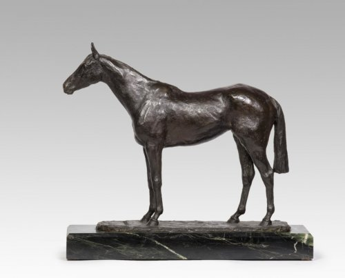 René Paris (1881-1970) - Coronation horse standing -