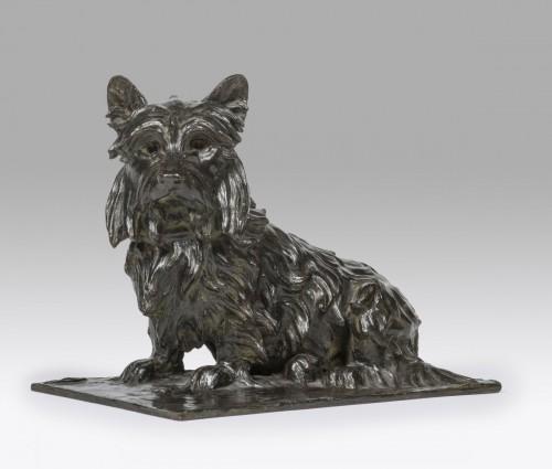 20th century - DE GOLEJEWSKI Nathalie (XXème) « Yorkshire terrier »