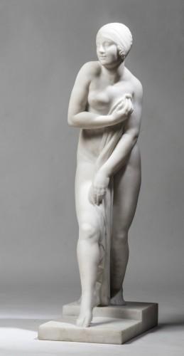 CHAUVEL Georges (1886-1962) - Bath ofchampagne - Sculpture Style
