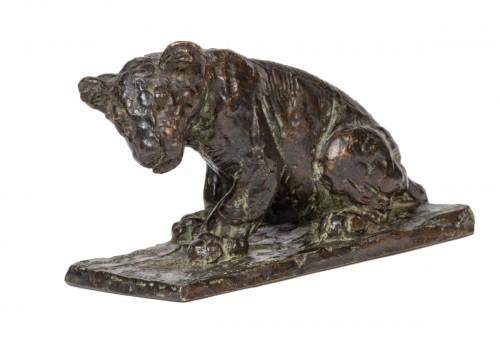 GODCHAUX Roger (1878-1958) - Young lion cub