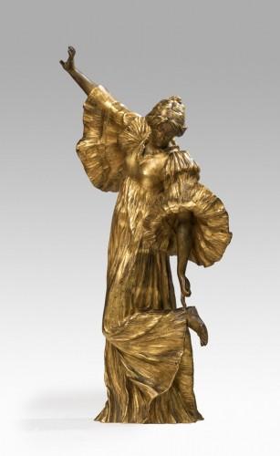 Sculpture  - LEONARD Agathon (1841-1923) - Dancer with the sandal