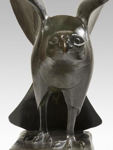 BADEAU Georges-Laurent (1898-1964) - Falcon - Sculpture Style