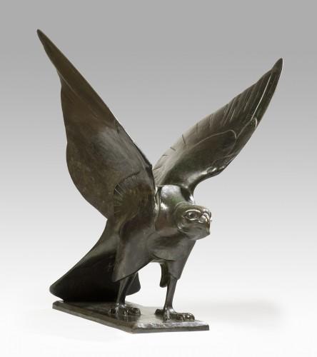 Sculpture  - BADEAU Georges-Laurent (1898-1964) - Falcon