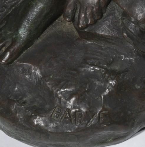 BARYE Antoine-Louis (1795-1875) - Junon - Sculpture Style