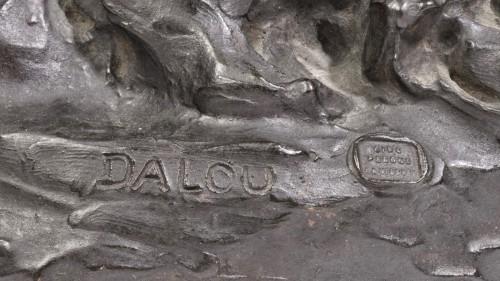 Sculpture  - DALOU Aimé-Jules (1838-1902) - The charity