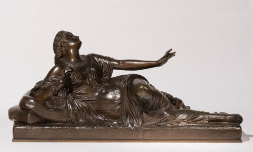 CLESINGER  Auguste (1814-1883) - Dying Cleopatra - Sculpture Style