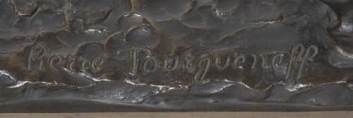 TOURGUENEFF Pierre (1853-1912) - English horse - Sculpture Style
