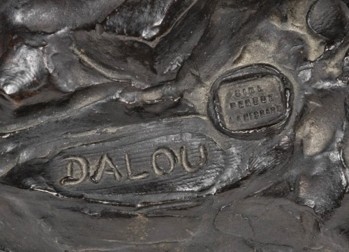 DALOU  Jules-Aimé (1838-1902) - Bacchus comforting Ariane  - Sculpture Style