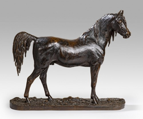 Sculpture  - FRATIN Christophe (1801-1864) - Arabian horse