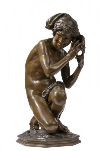 CARPEAUX Jean Baptiste (1827-1875) - Neapolitan fisher