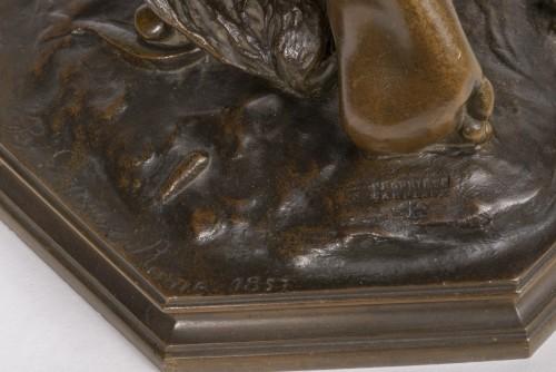 Sculpture  - CARPEAUX Jean Baptiste (1827-1875) - Neapolitan fisher