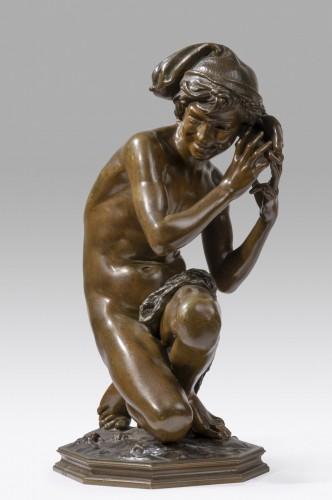 CARPEAUX Jean Baptiste (1827-1875) - Neapolitan fisher -