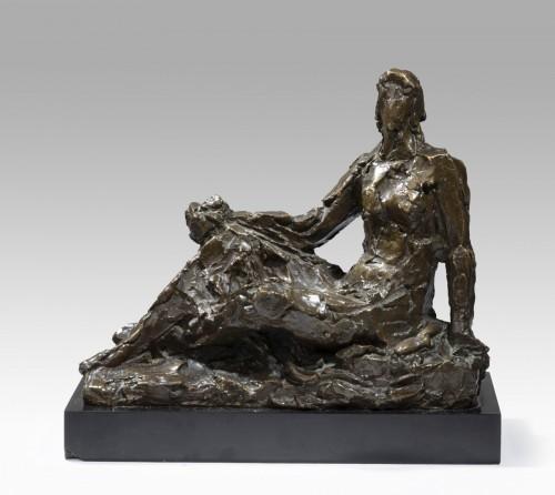Sculpture  - WLERICK Robert (1882-1944), Preparatory study for Pomone (1936)